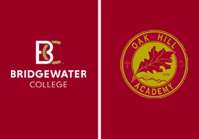 Logos from Bridgewater College and Oak Hill Academy Logos from Bridgewater College and Oak Hill Academy Logos from Bridgewater College and Oak Hill Academy