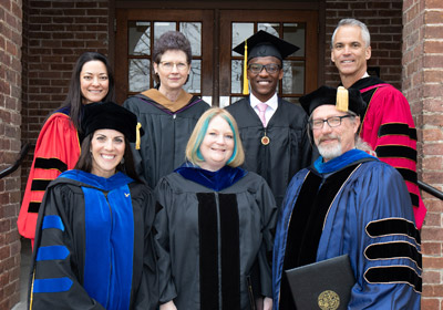 Photo of Founder's Day award winners|Photo of Founder's Day award winners|