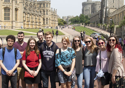 Flory Honors Students Learn One-on-One with Oxford Professors