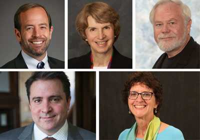 Photo of symposium speakers|