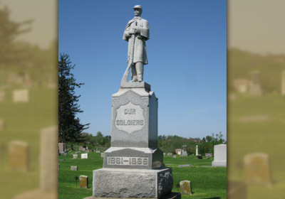 Our soldiers statue