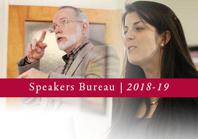 Speakers Bureau 2018-19