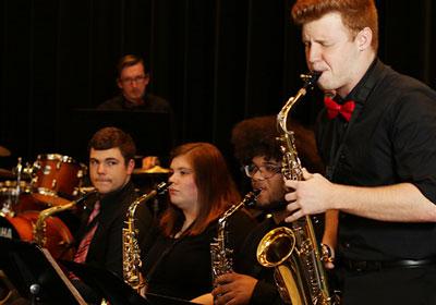 Photo of jazz musicians Photo of jazz musicians 